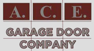 Ace Garage Door Company logo